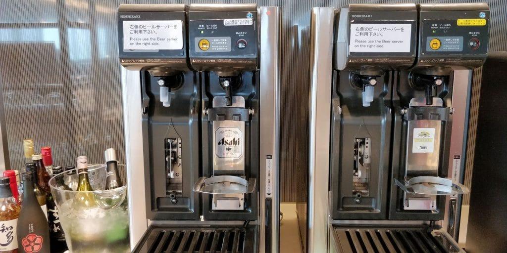 ANA Lounge Tokio Haneda 114 Buffet 3