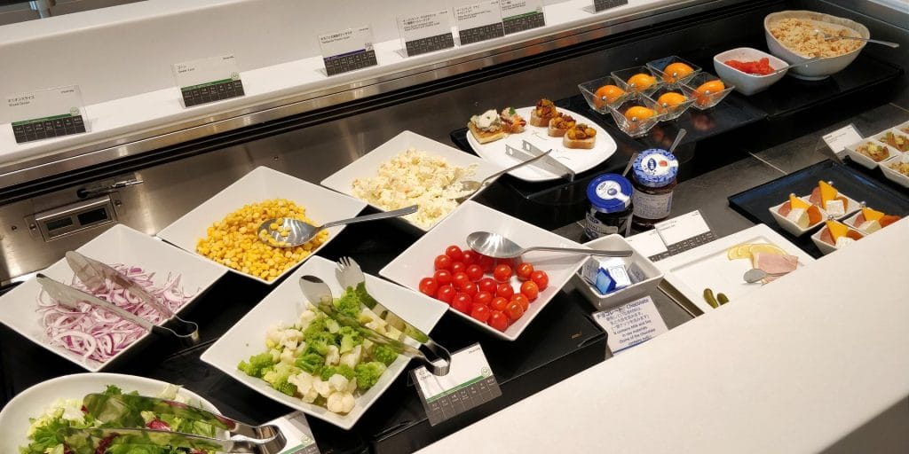 ANA Suite Lounge Tokio Haneda 114 Buffet