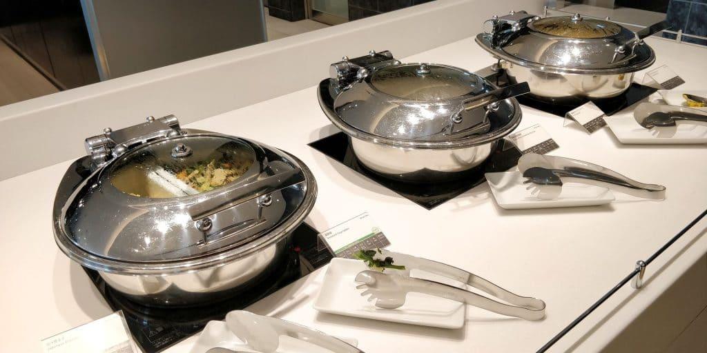 ANA Suite Lounge Tokio Haneda 114 Buffet 4