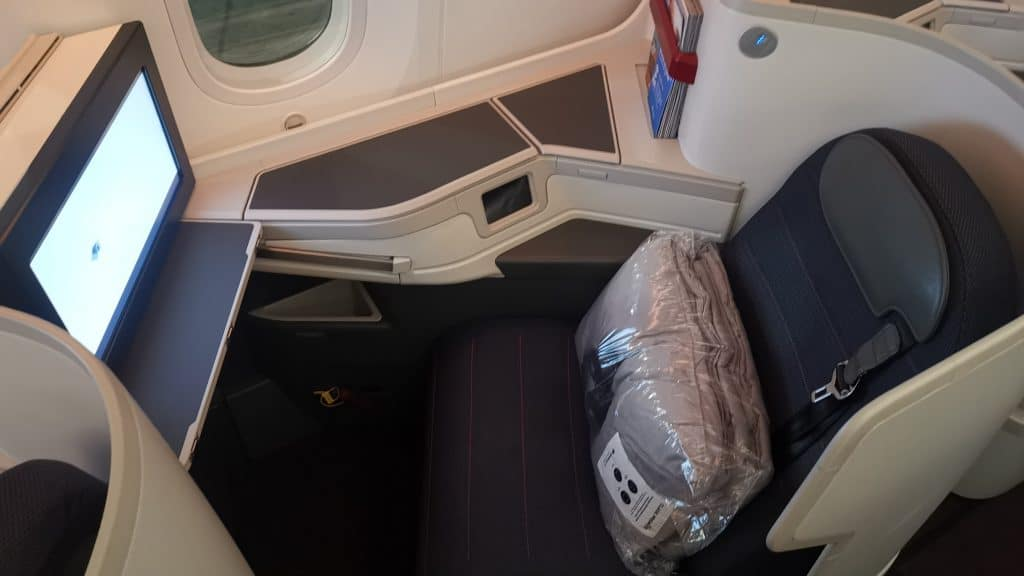AeroMexico Business Class Boeing 787 9 Fenstersitz