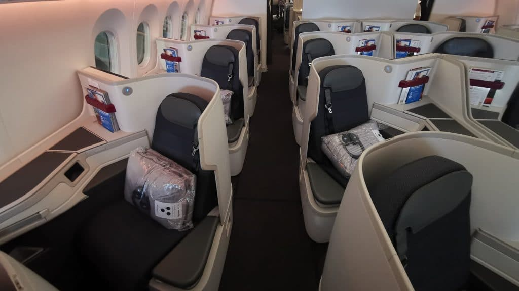 AeroMexico Business Class Kabine