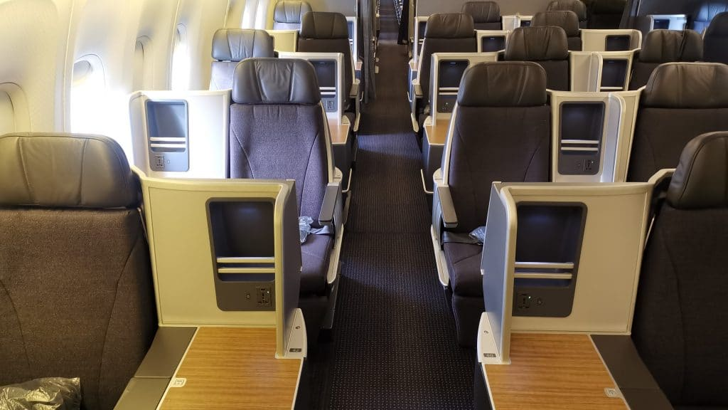 American Airlines Boeing 767 Business Class