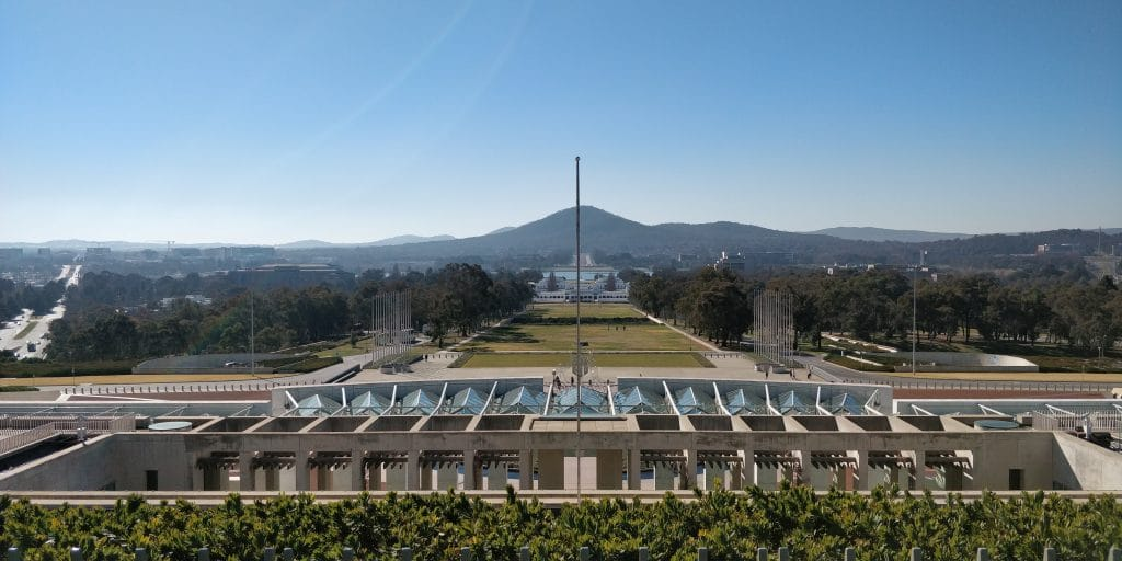 Canberra Parlament View 3
