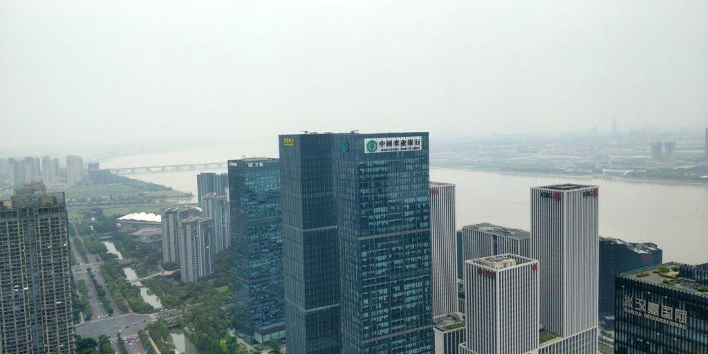 Conrad Hangzhou Ausblick