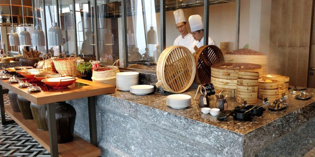 Conrad Hangzhou Frühstück 10