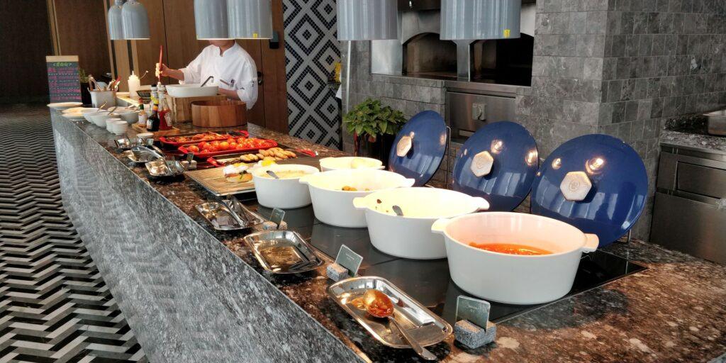 Conrad Hangzhou Frühstück 6