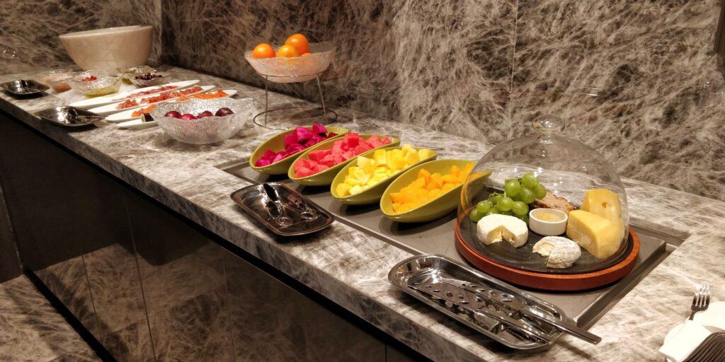 Conrad Hangzhou Lounge Abendessen