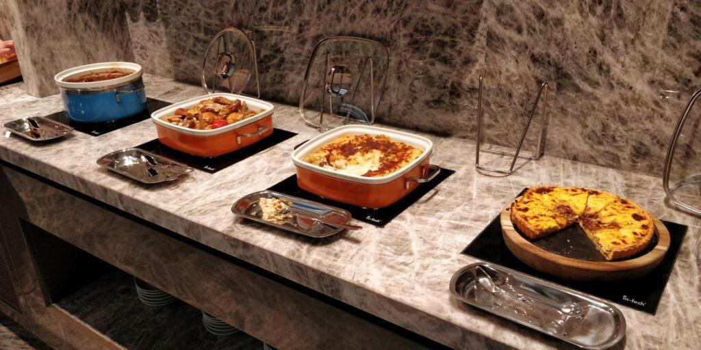 Conrad Hangzhou Lounge Abendessen 3