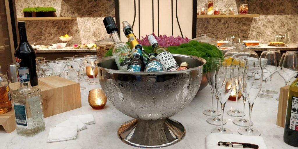 Conrad Hangzhou Lounge Abendessen 4