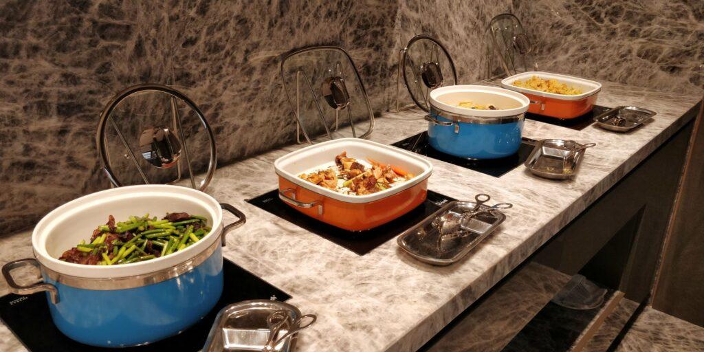 Conrad Hangzhou Lounge Abendessen 5