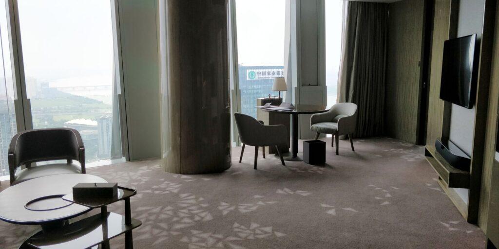 Conrad Hangzhou Suite Wohnzimmer