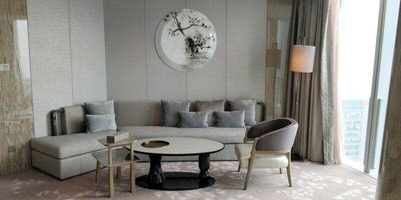 Conrad Hangzhou Suite Wohnzimmer 2