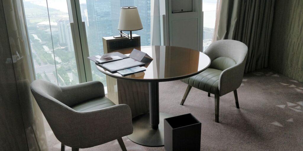 Conrad Hangzhou Suite Wohnzimmer 3