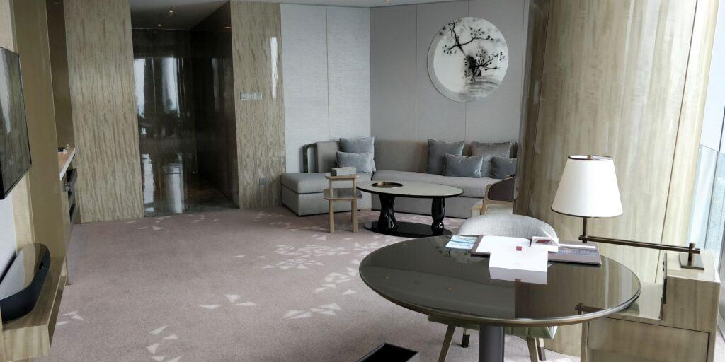 Conrad Hangzhou Suite Wohnzimmer 5