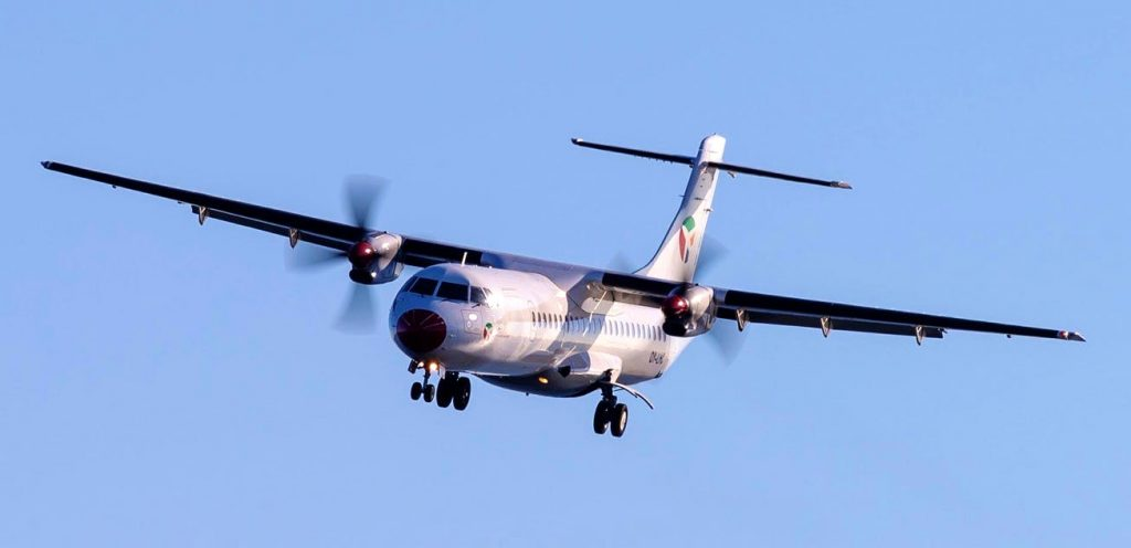 DAT Danish Air Transport ATR72