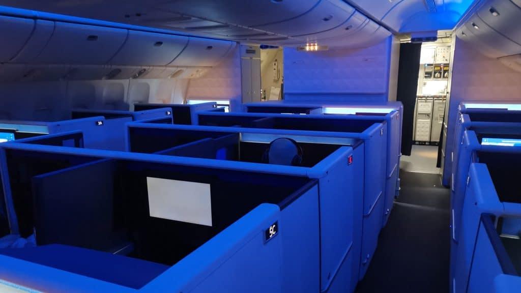 Delta One Suites Business Class Kabine