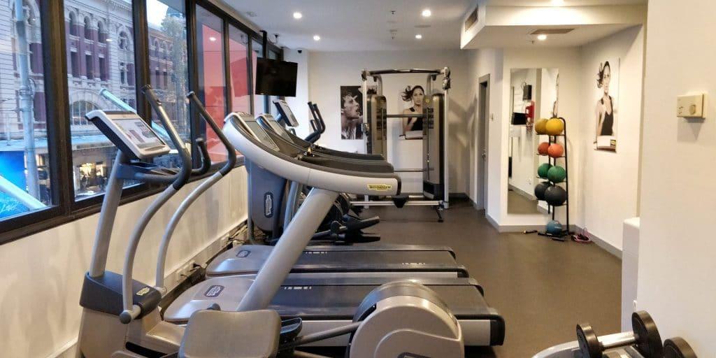 DoubleTree Melbourne Flinders Street Fitness 2