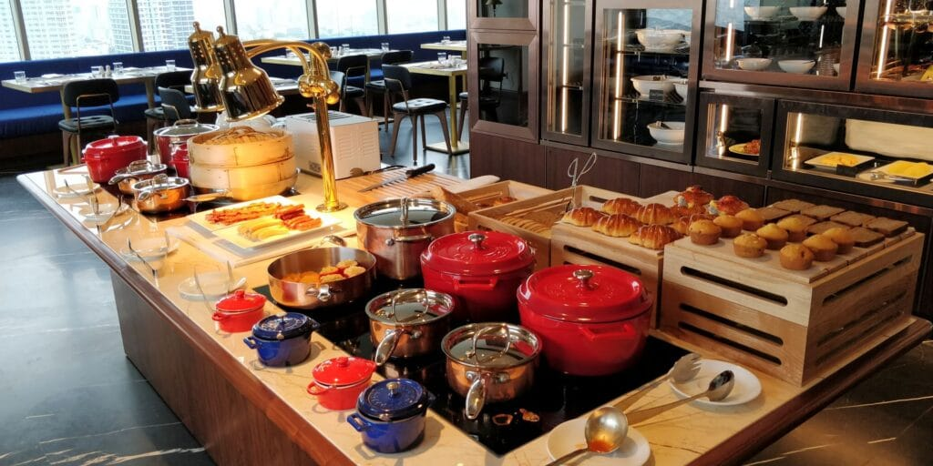 Hilton Danang Frühstück