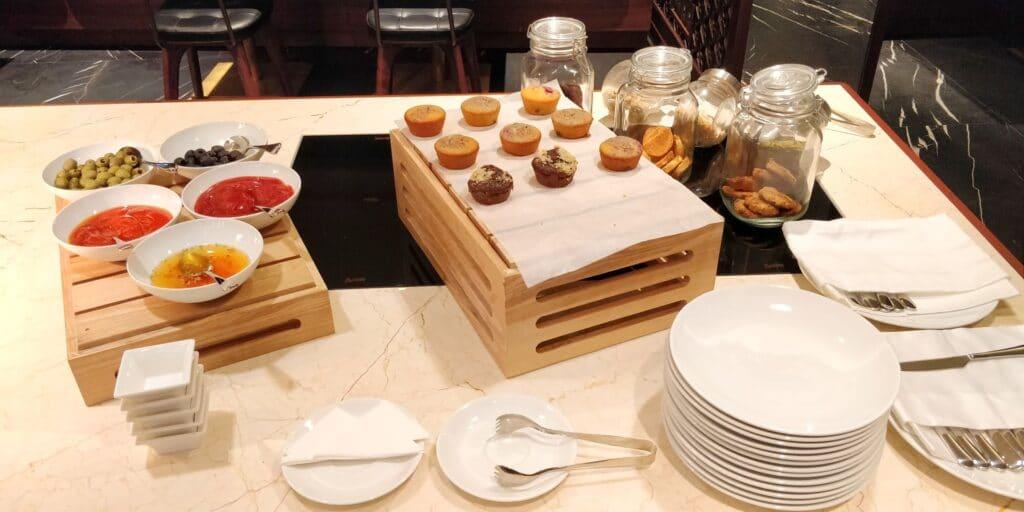 Hilton Danang Lounge Abendessen