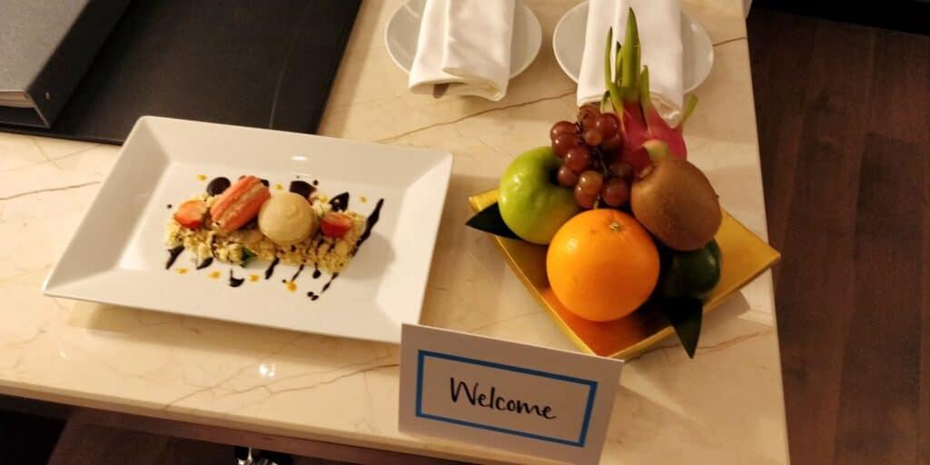Hilton Danang Willkommensgeschenk