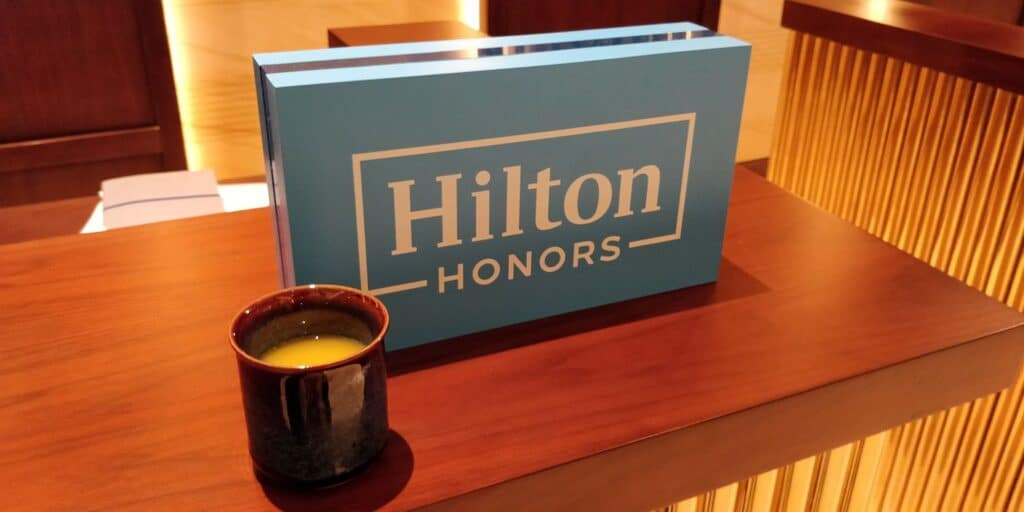 Hilton Danang Willkommensgetränk