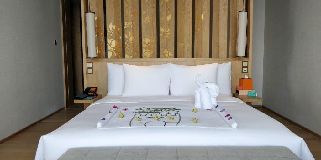 Hotel Indigo Dali Erhai Suite Schlafzimmer 2