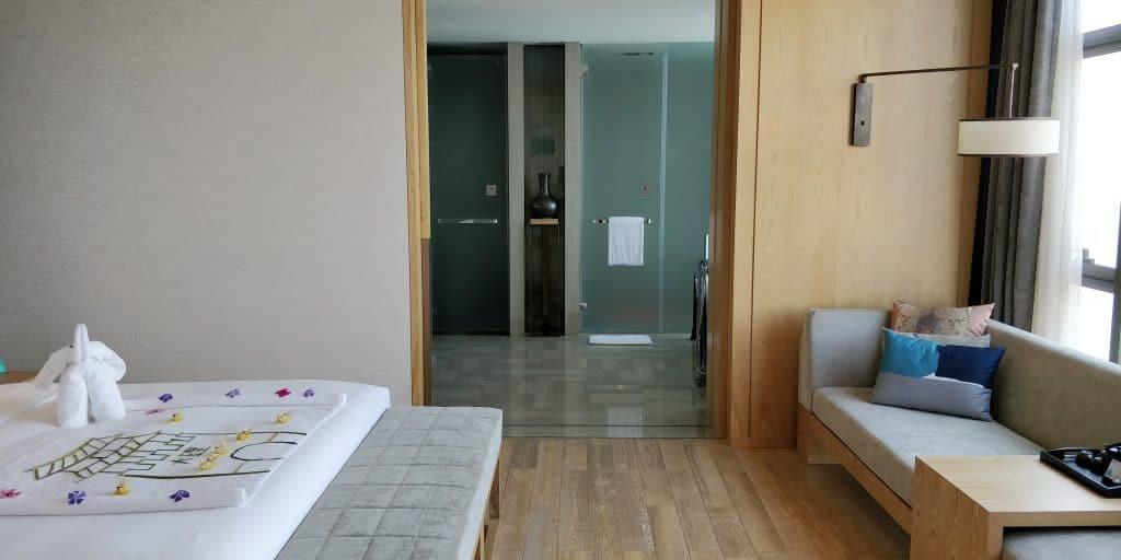 Hotel Indigo Dali Erhai Suite Schlafzimmer 3