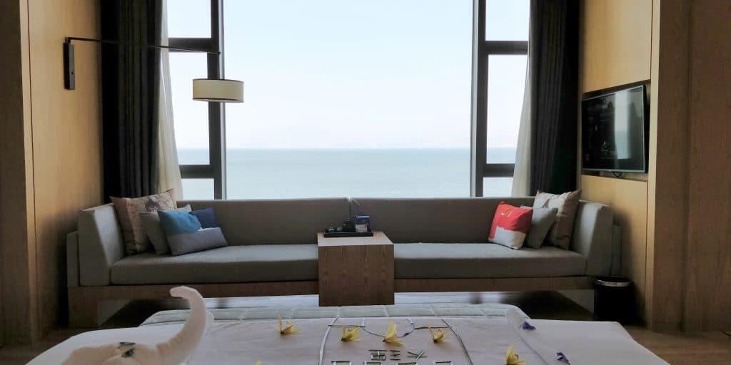 Hotel Indigo Dali Erhai Suite Schlafzimmer 5