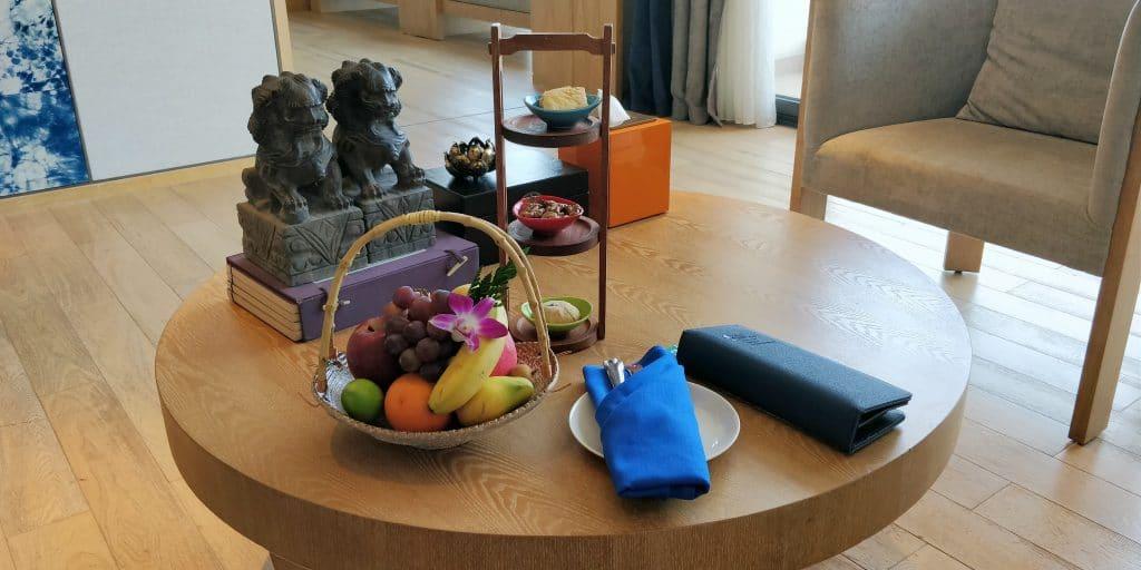 Hotel Indigo Dali Erhai Suite Willkommensgeschenk