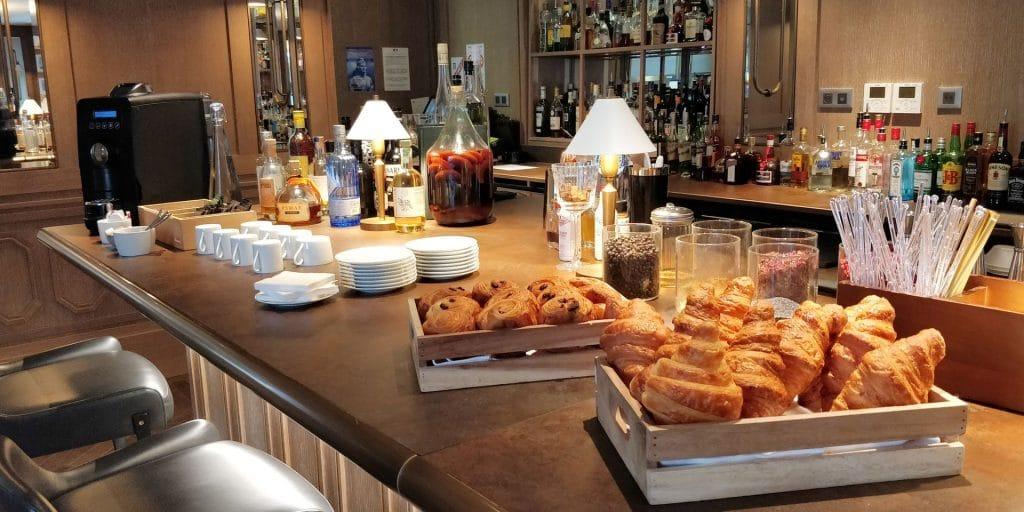 Hyatt Regency Chantilly Bar Frühstück