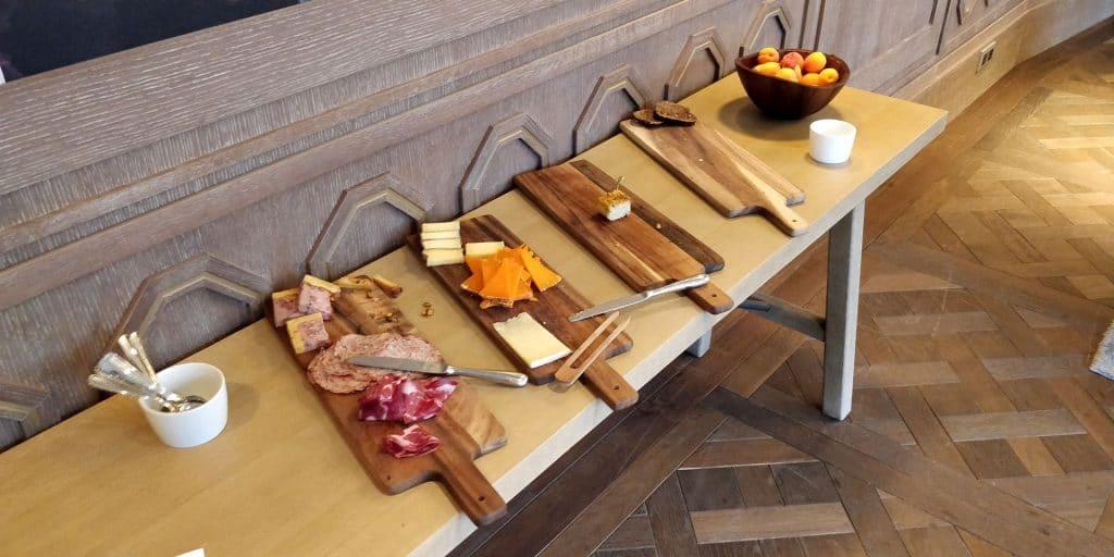 Hyatt Regency Chantilly Lounge Abendessen