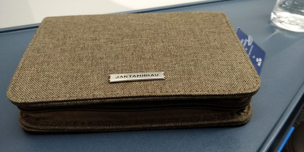 KLM Business Class Boeing 787 Amenity Kit