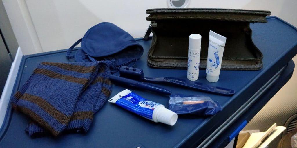 KLM Business Class Boeing 787 Amenity Kit 2