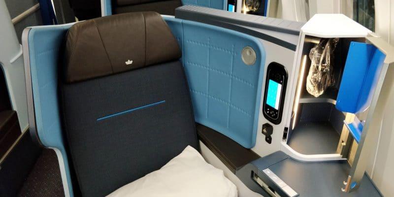 KLM Business Class Boeing 787 Sitz 9