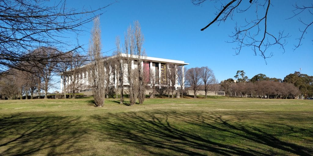 National Library Canberra
