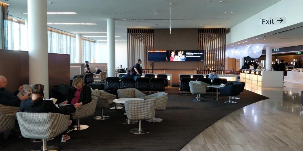 Qantas Business Lounge Canberra