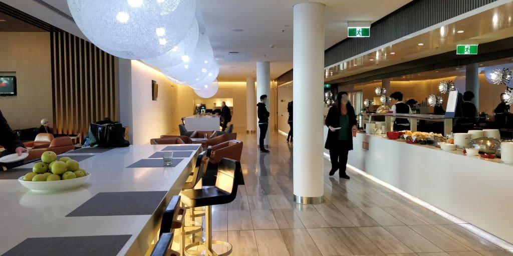 Qantas Business Lounge Canberra 2