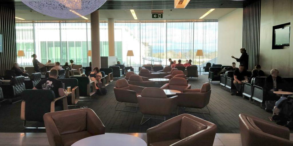 Qantas Business Lounge Canberra 5