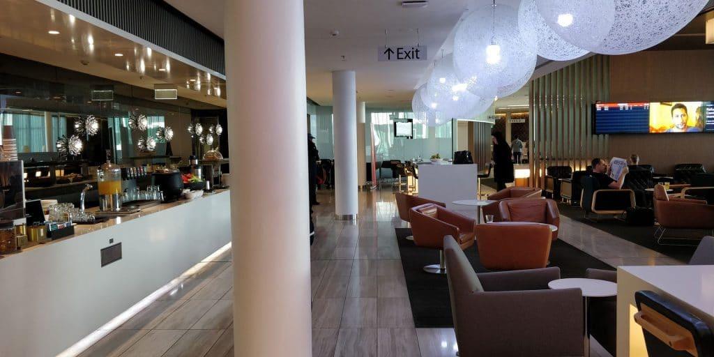 Qantas Business Lounge Canberra 6