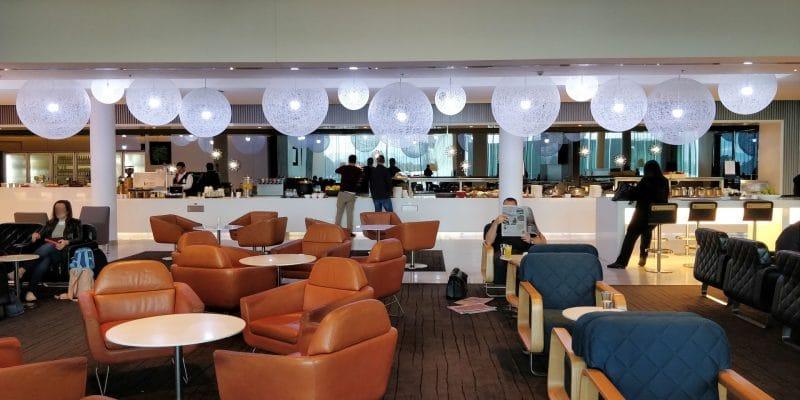 Qantas Business Lounge Canberra 7
