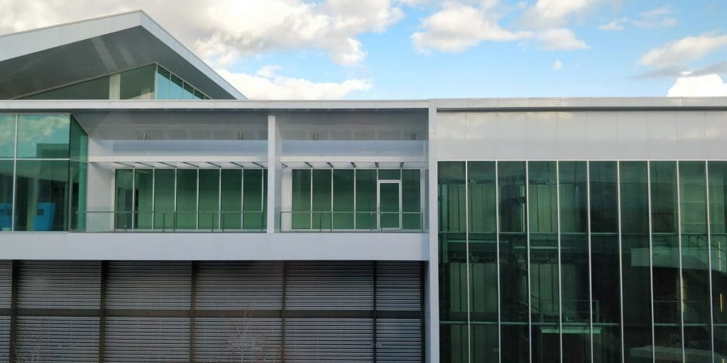 Qantas Business Lounge Canberra Ausblick