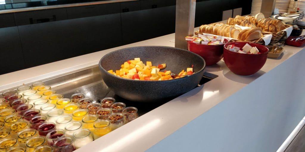 Qantas Business Lounge Canberra Buffet 2