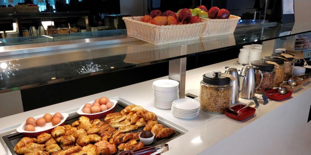 Qantas Business Lounge Canberra Buffet 7