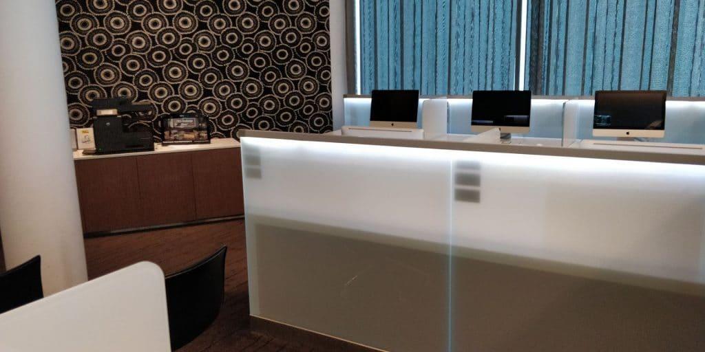 Qantas Business Lounge Canberra Business Center