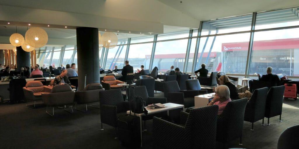 Qantas Business Lounge Sydney