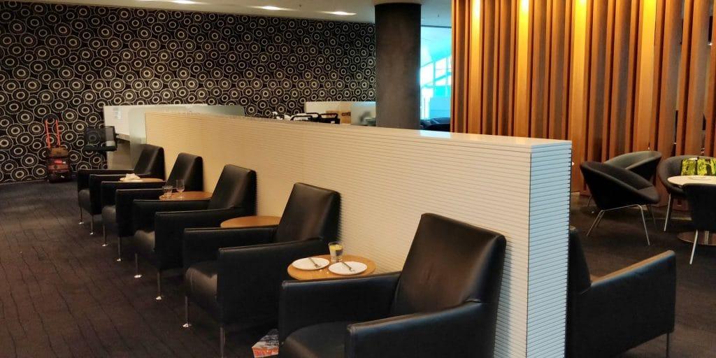 Qantas Business Lounge Sydney 7
