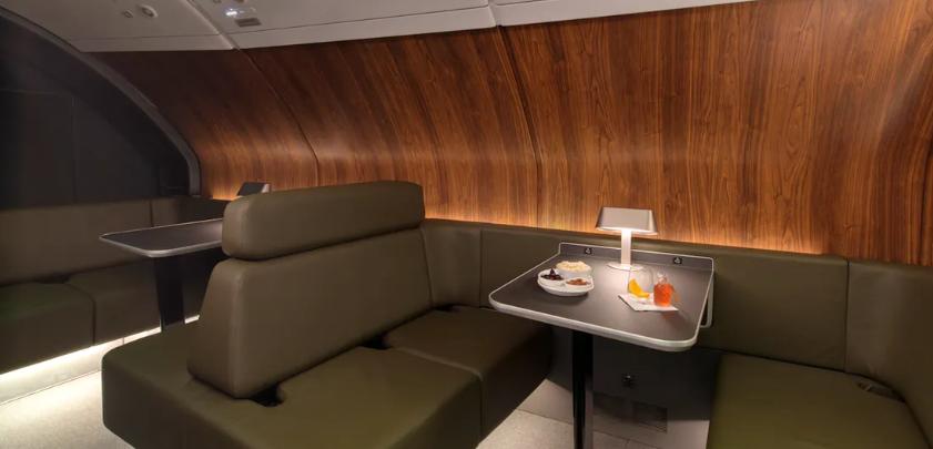Qantas Business Und First Class Lounge A380