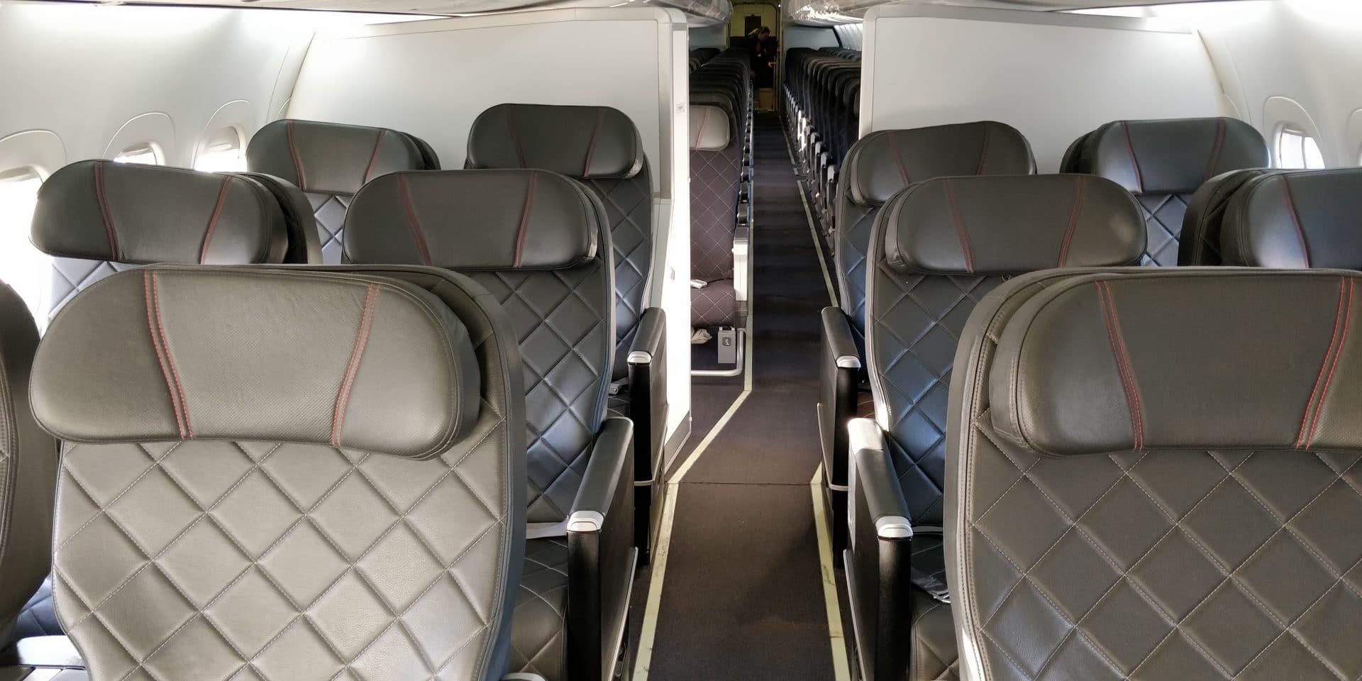 Qantas Link Business Class Sitze