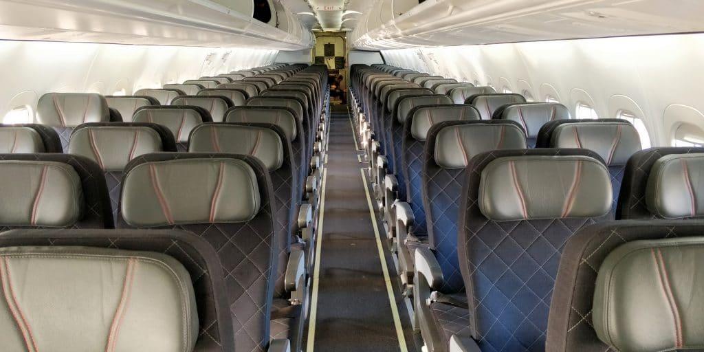 Qantas Link Economy Class Kabine