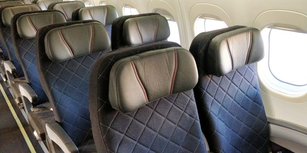Qantas Link Economy Class Sitz
